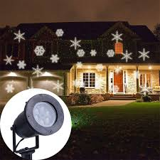 Outdoor Projection Lights For Christmas Popular Snowflake Projector Buy Cheap Snowflake Projector Lots
