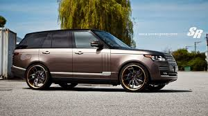 range rover black rims dub magazine range rover vogue on pur wheels by sr auto group
