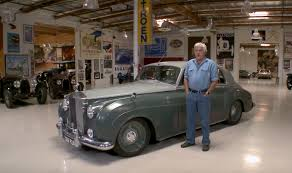 roll royce silver sleeper 1958 rolls royce silver cloud stops by leno u0027s garage