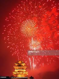 fireworks lantern celebrate the lantern festival photos and images getty