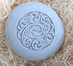 Stone Home Decor Celtic Design Home Decor Stone Paperweight Hand Carved Stone