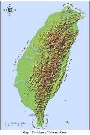 Map Of Taiwan Human Activities And Environmental Changes Along Taiwan U0027s West