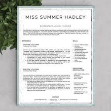 Sample Resume Of Teacher by Creative Teacher Resume Soaring Template Teacher Resume
