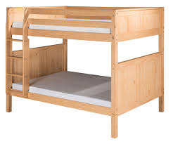 Full Sized Bunk Bed by Camaflexi Full Over Full Bunk Bed In Natural E1621 Camaflexi