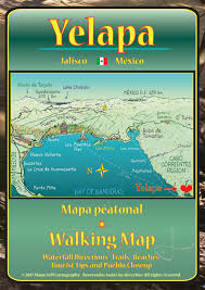 Punta Mita Mexico Map by Mapa Jeff Cartography