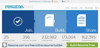 Online Resume Maker Free by 10 Free Online Tools To Create Professional Resumes Hongkiat
