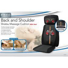 Homedics 3 Homedics Canada Back And Shoulder Shiatsu Massage Cushion