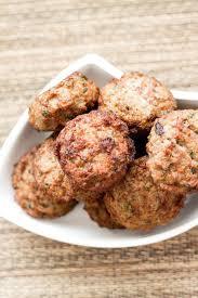 paleo thanksgiving meatballs