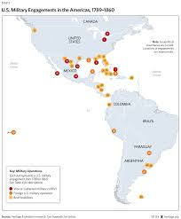 Map Of Caribbean Islands And South America by The Myth Of American Isolationism Commerce Diplomacy And