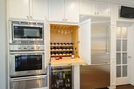 san francisco wine rack furniture kitchen farmhouse with fridge