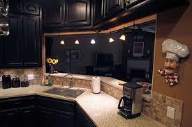 Kitchen Cabinet Lighting by 20 Black Kitchen Cabinet Ideas 6122 Baytownkitchen