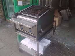 charcoal bbq fastfood catering archway grill commercial machine