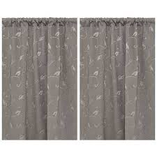 Seville Curtains House Home Seville Rod Pocket Blockout Curtains Big W
