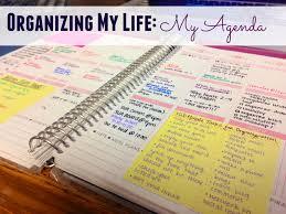 organizing my life my agenda indulging in wanderlust