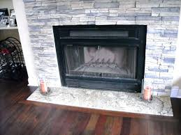 installing stacked stone fireplace surround fireplaces indoor diy