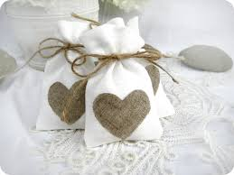 favor bag wedding favor bags set of 10 white rustic linen wedding