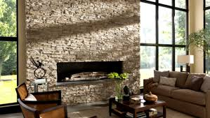 interior enchanting fireplace candelabra with versetta stone for