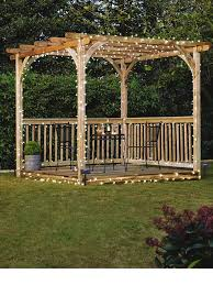 Deck Pergola Pictures by Two Level Deck With Pergola Deck Design And Ideas