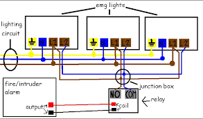 wiring diagram for emergency lighting wiring wiring diagrams