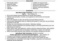 Oil Field Resume Templates Best Field Technician Resume Example Livecareer Within Oilfield