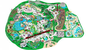 Great America Six Flags Rides Six Flags Great America Interactive Map Youtube
