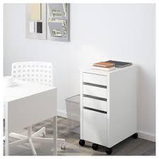 drawer organizer ikea desk organization micke drawer unit drop file storage black brown