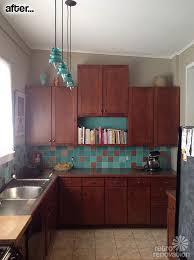 vintage kitchen tile backsplash lori paints tile backsplash using a vintage mccoy vase as