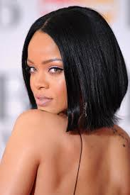 bob haircuts for damaged hair new rihanna bob cut razanflight com