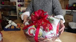 custom corporate gourmet gift basket making youtube
