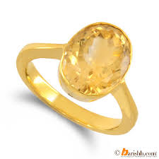 gemstone rings designs images Asht dhatu ring design mounting certified pukhraj stone jpg