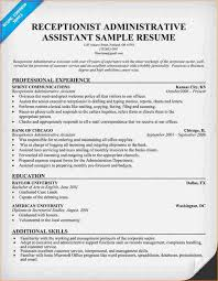 administrative assistant resume sample business proposal