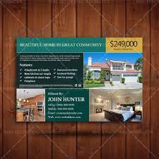 property listing marketing realtor branding postcard real estate