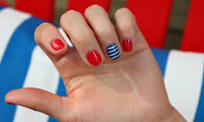 easy 4th of july nail art how you can do it at home pictures