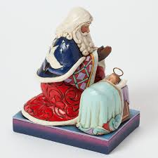Home Interior Jesus Figurines Heaven Rejoice A King Is Born Santa Scene By Baby Jesus Figurine