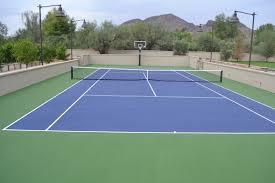 sunken tennis court backyard sport court pinterest backyard