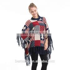 wholesale sweaters wholesale fashion knitted poncho pullover made design