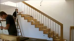 treppe nachtrã glich einbauen montage einer treppe mit setzstufen