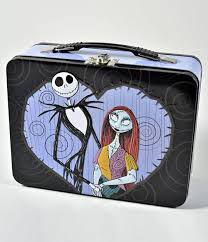 purple black nightmare before sally large tin