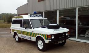 navy range rover land rover katy ambulances