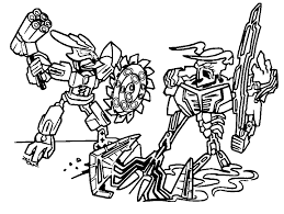 Bionicle Coloring Pages Lego Coloring Pages For Boys Free