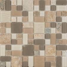 turquoises aquas mosaic tile tile the home depot