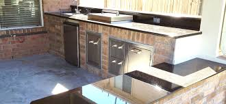 How To Design An Outdoor Kitchen How To Build An Outdoor Kitchen In Houston Tx