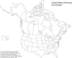 blank us maps west