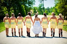 photo of the day bridesmaids n u0027 boots bridesmaiding com