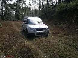 skoda yeti off road the silver littlebigfoot and a skoda yeti new year 2012 team bhp