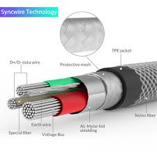 buy syncwire nylon braided micro usb cable 2 pack enjoy