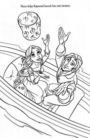 Rapunzel And Flynn Coloring Pages 2644919