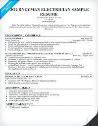 journeyman electrician resume exles electrician resume exle journeyman electrician resume sle