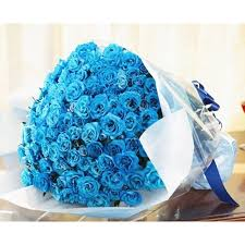 blue roses blue kisses
