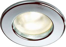 Halogen Ceiling Light Fixtures by Frilight Pinto 8675 Recessed Boat Light Halogen Or Led